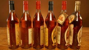 An assortment of Pappy Van Winkle for sale at Cox's Spirit Shoppe and Smoke Outlet of Louisville.