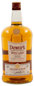 Dewars White Label handle