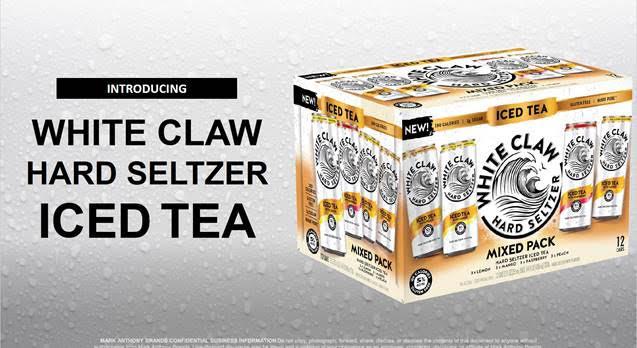 White Claw Iced Teas